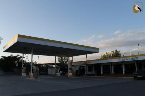 Gasolinera en Cazorla