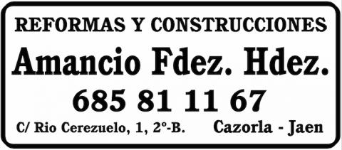 Amancio Fernandez Hernandez (Cazorla)
