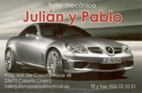 Taller Mecanico Julián y Pablo (Cazorla)