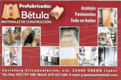 Prefabricados Bétula