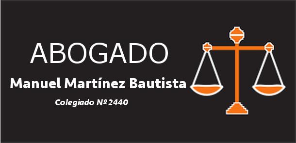 Abogado Manuel Martinez Bautista