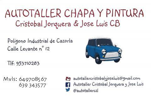 AutoTaller Chapa y Pintura Cristobal Jorquera Y Jose Luis C.B. (Cazorla)