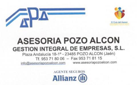 Asesoría Pozo Alcón